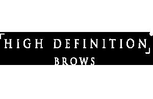 HD BROWS LOGO FOR SLIDER